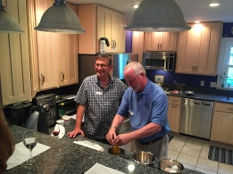 George Hrichak, left, and Don Willis
